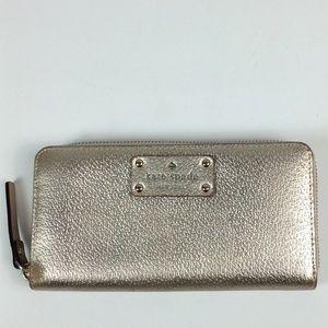 Kate Spade Neda rose gold wallet